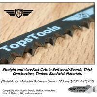 15pcs TopsTools T344D 152mm Jigsaw Blades - JSTT344D_3