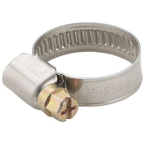 AROZ Collier acier largeur 9mm serrage diamètre 16-25 mm (x2)