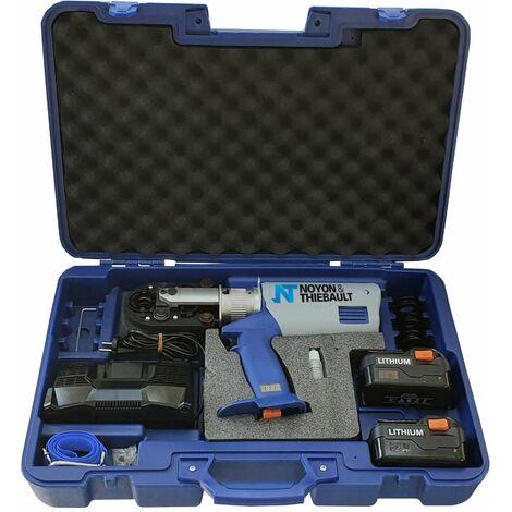 sertisseuse sur batterie pour raccords multicouche et PER profil TH. Noyon & Thiebault