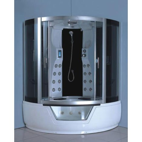 WHIRLPOOL BATH TUB SHOWER Model MONTECARLO 150 X 150 CM (cm 230 h)