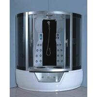 WHIRLPOOL BATH TUB SHOWER Model MONTECARLO 150 X 150 CM (cm 230 h)