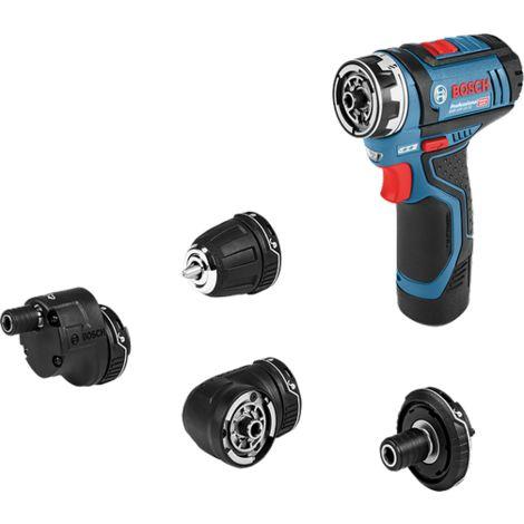 Perceuse-visseuse sans-fil GSR 12V-15 FC Solo + Set accessoires - 06019F6003 - Bosch