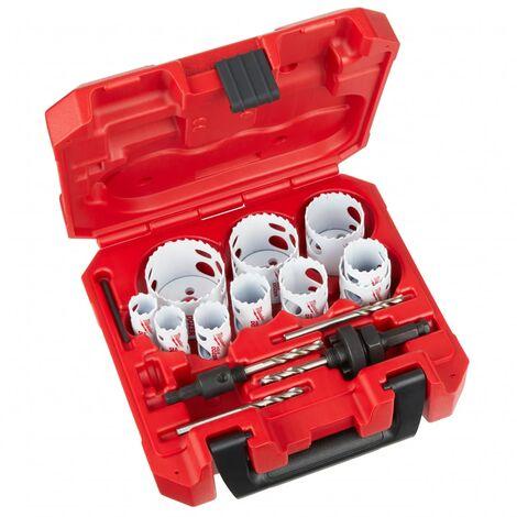 Coffret scies cloches bi-métal (14 pièces) HOLE DOZER   4932464720 - Milwaukee