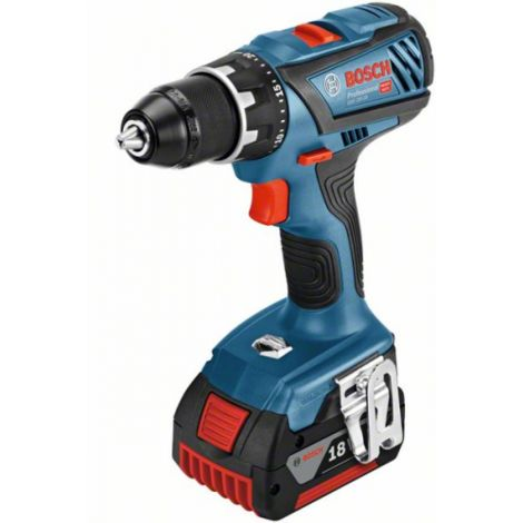 Perceuse-visseuse sans fil GSR 18V-28 5.0Ah Coffret L-BOXX - 06019H4101 - Bosch
