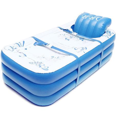 Portable Adults Children Pvc Inflatable Bathtub Soaking Bathtub Hot Tub Spa Blow Up