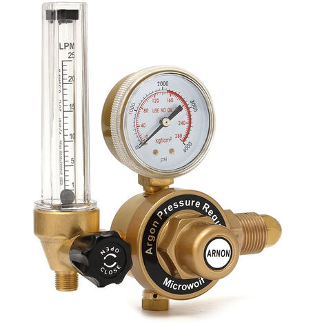 Argon Pressure reducer Mig Tig Control valve Welding regulator