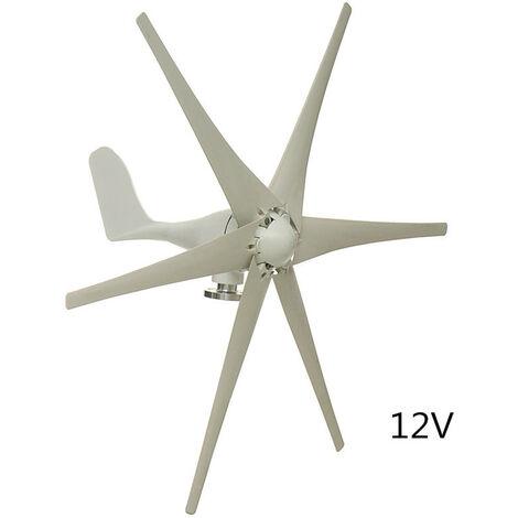 12 V 1000W 6 Blades Wind Turbine Generator Windmill Kit