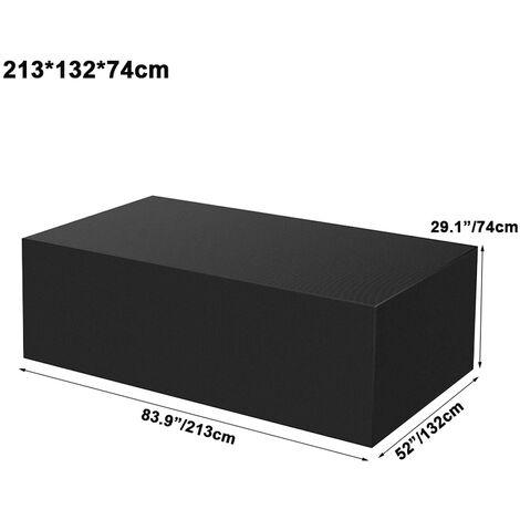 Waterproof Garden Patio Furniture Protector Outdoor Table Bench BBQ Rain Cover 213x132x74cm