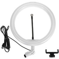 """10 """"26cm Selfie Ring Light with Cell Phone Holder for YouTube Video Live Stream Makeup Photography Dimmable Fill Lamp"""