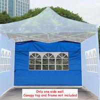 Outdoor Waterproof 3x3M Gazebo Marquee Party Tent Side Wall Window Garden