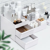 Storage Drawer Plastic Box Makeup Dressing Table Skin Care Organizer Container Sundries