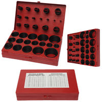 Box Metric O-Rings 419Pcs 32 Sizes Rubber O Seal Ring Plumbing Tool Garage Workshop