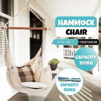 Hanging Hammock Chair Garden Swing Hammock Without Pillow