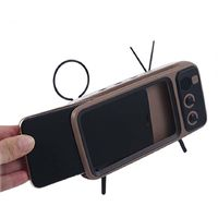 Brown Retro Style Cell Phone Holder