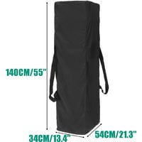 Outdoor Gazebo Marquee Carry Bag 140 * 34 * 54cm