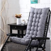 Garden lounge chair cushion 110 * 40CM Gray