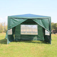 Gazebo Tent 3x3M Waterproof Shelter Green