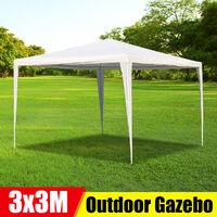 Party Tent 3x3M White Outdoor Garden Gazebo Marquee Tent
