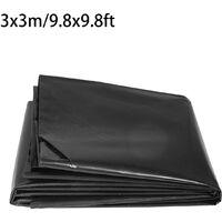 3x3m Thickness 0.5mm Pond Liner Special Offer Fish Pool Pond Liner Membrane Black