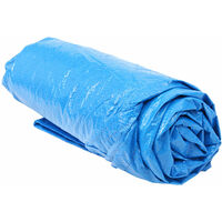 10ft Swimming Pool Cover Dustproof Protection Mat 305cm