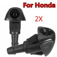 Pair Front Windscreen Washer JET Spray For Honda Accord VII 7 Jazz Fit City 02-08