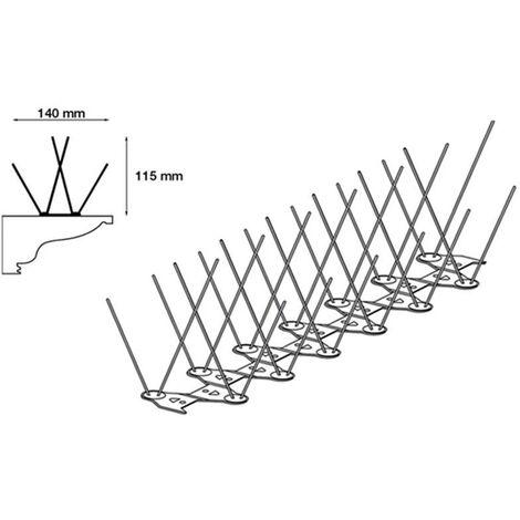 Stop Piafs Ecopic E4 PCB 85/115mm 33cm 6 tiges sur 4 rangées