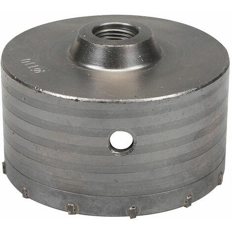SCIE CLOCHE TREPAN EN CARBURE DE TUNGSTENE - choisissezici : Trépan de 110 mm