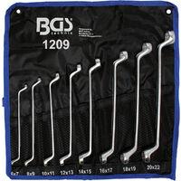 CLES POLYGONALES OEIL DOUBLES CONTRE COUDEES BGS TECHNIC de 6 à 22 mm