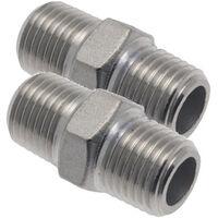 Silencieux pour air comprim/é Norgren T40C2800 Filetage ext/érieur 1//4 10 bar 1 pc s