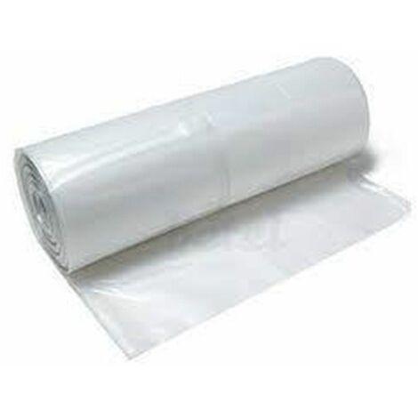 Plástico para agricultura e invernaderos - TRANSPARENTE - 500 Galgas - 6x125 metros