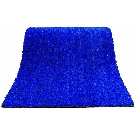Césped Artificial ColorGrass Azul - Rollos  | Seleccione la medida| Varias medidas - Rollo: 2x4 metros