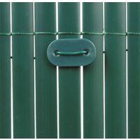 Cañizo de PVC Doble Cara 1600gr/m2 - Verde Oscuro | SELECCIONE LA MEDIDA| VARIAS MEDIDAS - 1x3m