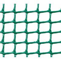 MALLA PLASTICA CUADRADA 0,5x0,5 cm VERDE - 1x5m