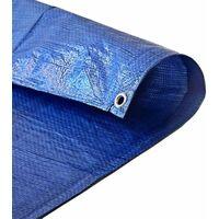 Bache Bois 150 g/m² - 5 x 8 m - bache etanche - bache exterieur - bache a bois