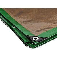 Bâche pergola 250 g/m² - 4 x 5 m - toile pergola - toile pour tonnelle - bache exterieur - bache terrasse