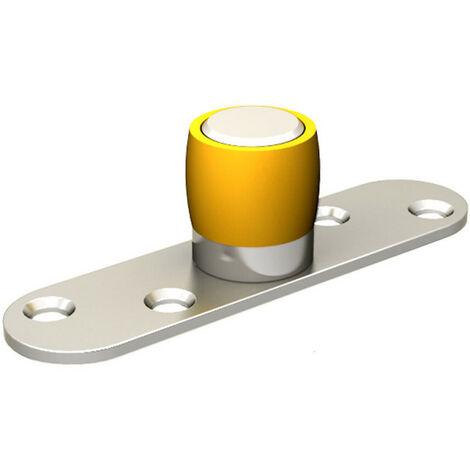 Guide olive en nylon Ø 24 mm pour porte jusqu'à 150 kg