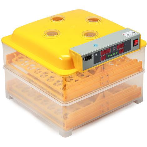 Melko Incubateur Incubateur entièrement automatique 96 oeufs incubateur à moteur pour volailles incubateur à moteur pour poulets