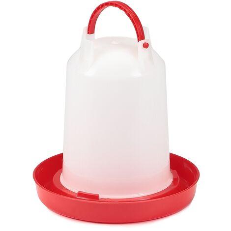 Melko distributeur automatique d'eau distributeur de boisson distributeur de boisson inversé station d'alimentation poulets abreuvoirs mangeoires pour volailles - abreuvoirs pour volailles - 1,5 litre