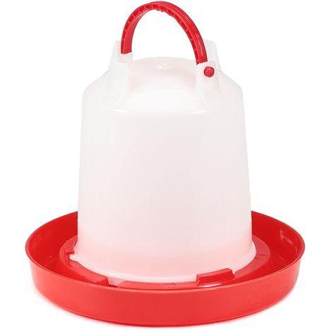 Melko distributeur automatique d'eau distributeur de boisson distributeur de boisson inversé station d'alimentation poulets abreuvoirs mangeoires pour volailles - abreuvoirs pour volailles - 1 litre