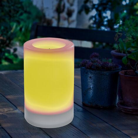 Vela solar de 100x150mm LED decorativa de jardín esotec 102234