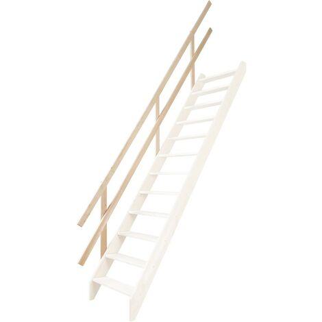 Main courante pour escalier de meunier 50 cm (pin)