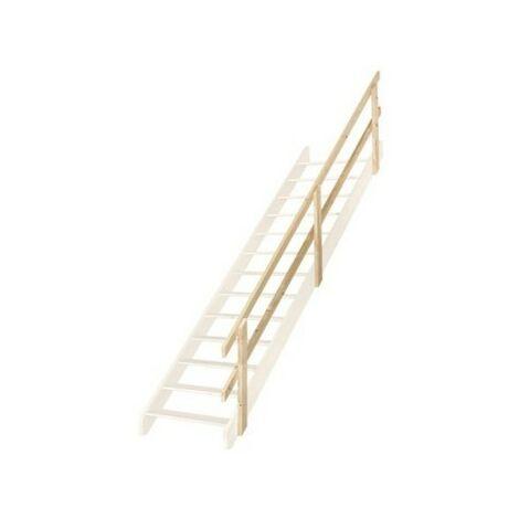 Main courante pour escalier de meunier 65 cm (pin)