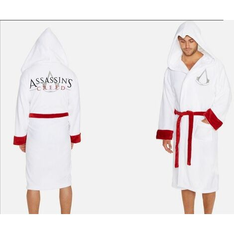 Assassins Creed Assassin White Robe