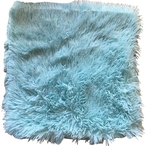 """Doux Cushion Cover 17 X 17"""" Blue Bed Sofa Unfilled Accessory"""