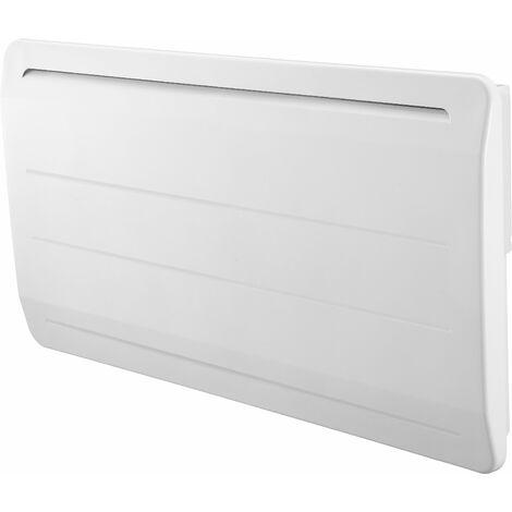 Radiateur électrique cœur de chauffe en fonte blanc - thermostat électronique - détecteur d'ouverture de fenêtre - VOLTMAN - 2000W IP24 NF CE - Blanc