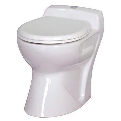 Cuvette WC broyeur intégré Ancoflow en céramique blanc