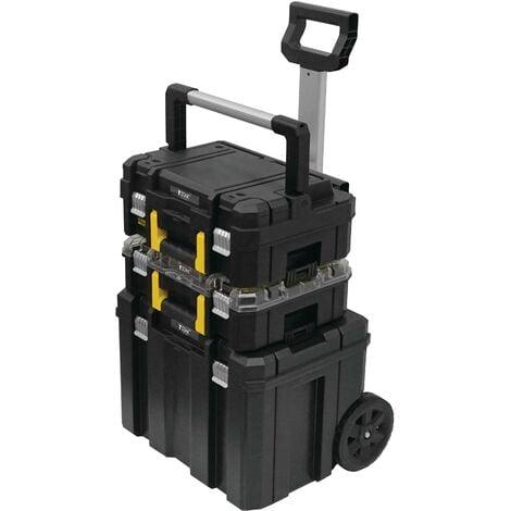 Servante Mobile 3 modules TSTAK Fatmax Pro