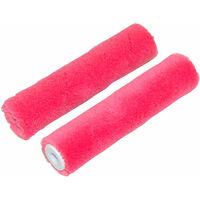 Mini-manchons Tissu enduit pour finition brillante - Lot de 2 Ø17mm - Larg 110