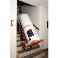 Diable spécial escalier avec bavette repliable - 250 kg