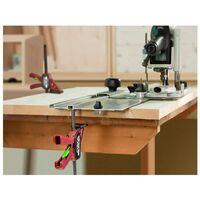 Serre-joint rapide Quick-T-Track - Spécial machines à bois Capacite serrage 15 cm